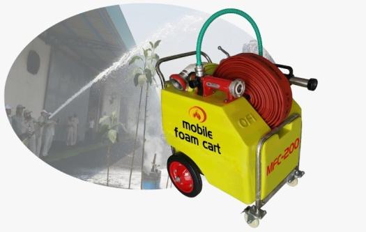 mobile foam trolley cart