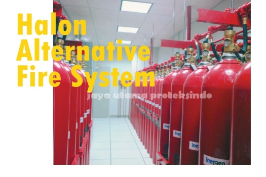 halon alternative fire system