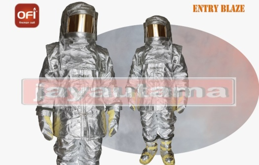 aluminized suit complete
