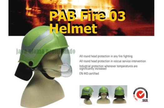 PAB Fire 03 Helmet