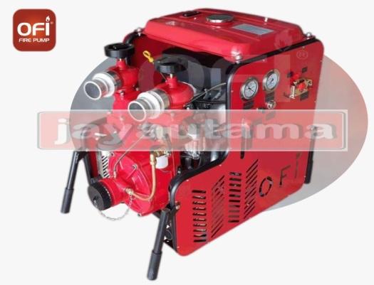 portable diesel fire water pump