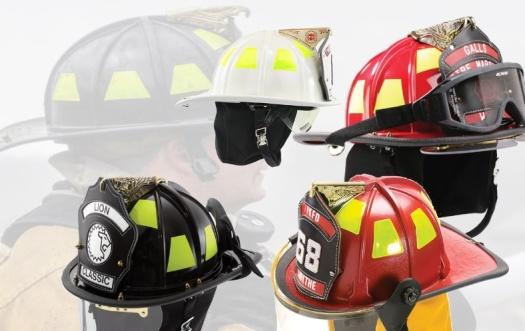warna helm pemadam kebakaran