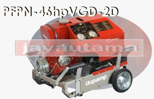 portable fire pump cart