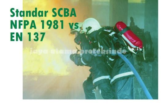 Standar SCBA NFPA 1981 vs EN 137