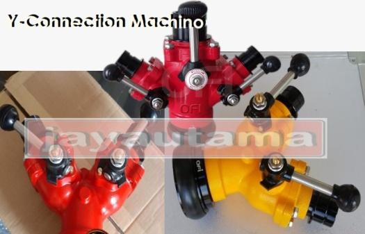 y connection selang machino