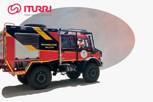 mobil pemadam kebakaran untuk hutan