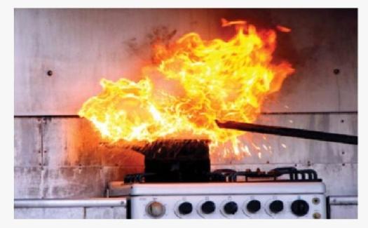 kebakaran kelas k