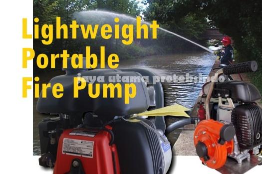 lightweight portable fire pump