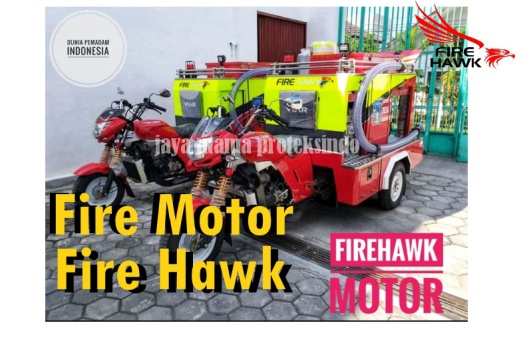 motor pemadam kebakaran roda 3
