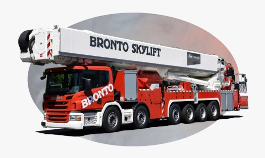 bronto aerial fire truck