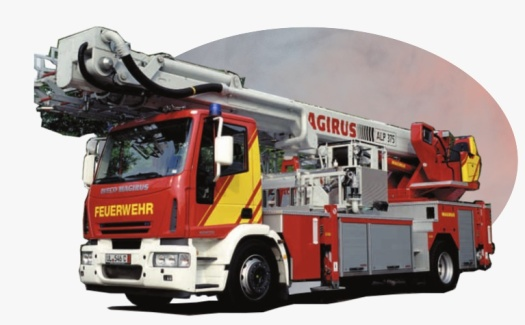 iveco aerial ladder fire truck