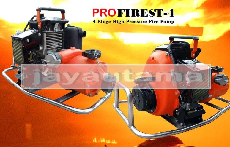 pompa portable pemadam kebakaran hutan