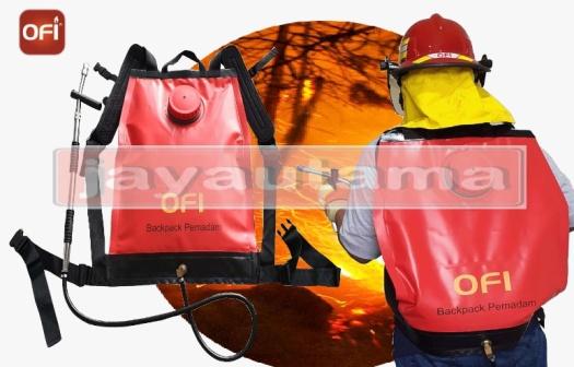 pompa punggung pemadam kebakaran hutan
