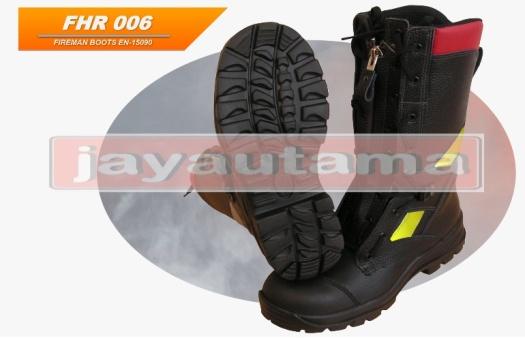 sepatu boot safety pemadam kebakaran
