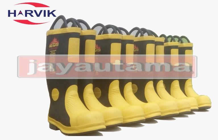 sepatu Pemadam Harvik Fire Boots Indonesia