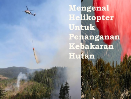 Helikopter Pemadam Kebakaran Hutan