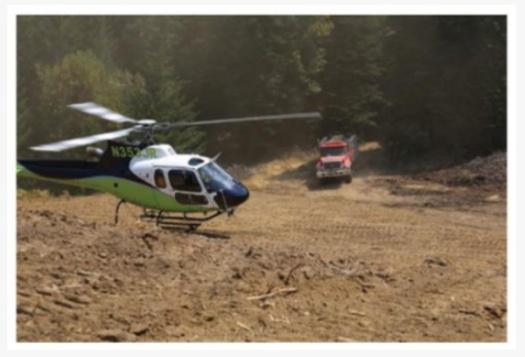jenis helikopter pemadam kebakaran hutan tipe 3