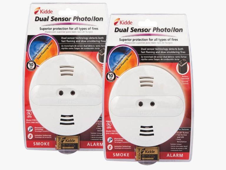 kombinasi ionization smoke alarm dan photoelectric