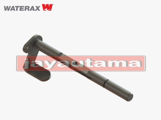 R-1035 Brass And Steel Throttle Shaft And Lever