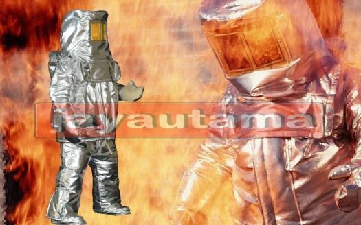 baju tahan api aluminium