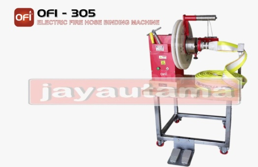 mesin pengikat selang pemadam elektrik